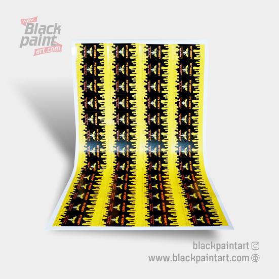 Stiker Vinyl Doff Meteran  (UV Gel Xenon )